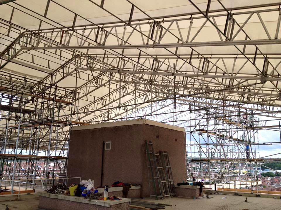 Haki Roofing Systems Ashton Scaffolding