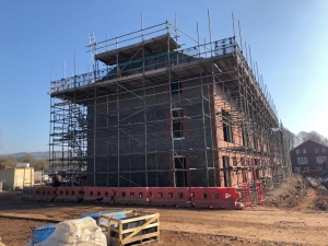 Linden Homes, Bitton - Ashton Scaffolding