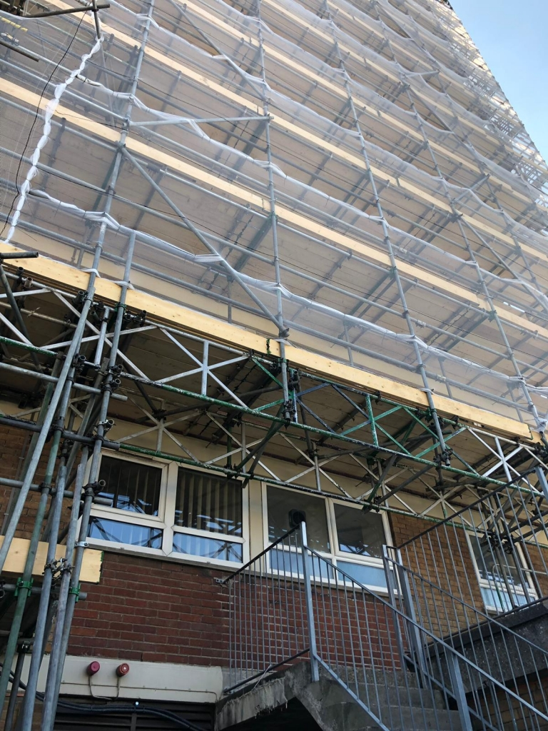 Gaywood House Bedminster Ashton Scaffolding